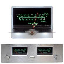 DYKB VU Panel metre başlık yüksek hassasiyetli ses güç amplifikatörü göstergesi Preamp tüp AMP DB masa seviyesi header LED aydınlatmalı