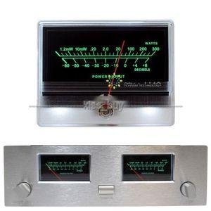 Dikb vu painel medidor encabeçamento alta precisão amplificador de potência de áudio indicador preamp tubo amp db mesa nível cabeçalho led backlight