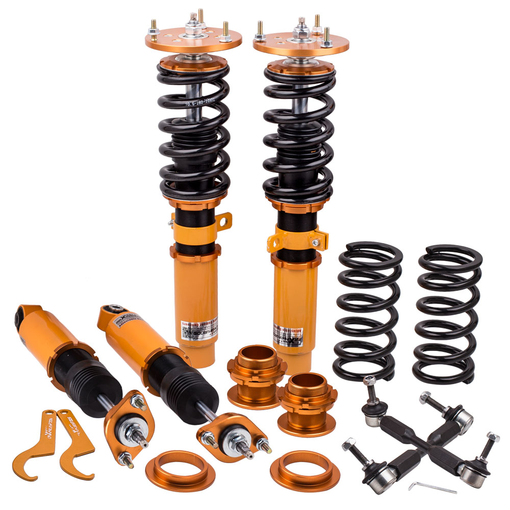 Coilover Kits Fit for BMW Z4 E85 2002 2008 24 Ways Adjustable Damper Shock Absorbers Coil