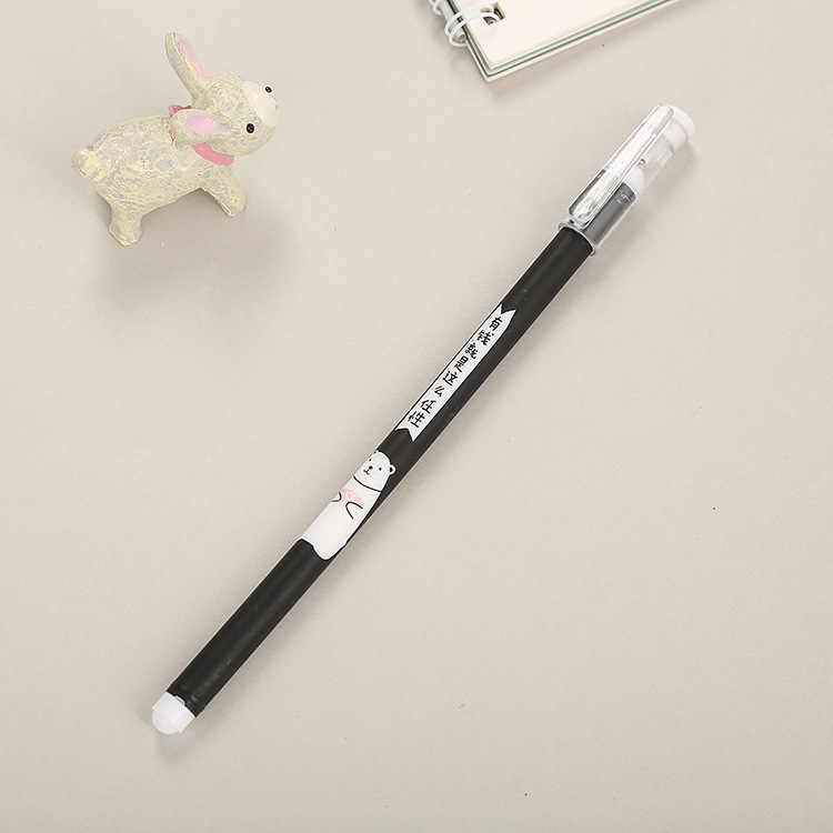 Nouveau Style créatif peint PA Gel stylo dessin animé mignon apprentissage papeterie Cool bureau avec le mot à base d'eau stylo