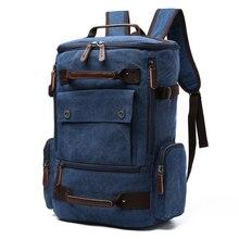 Men Backpack Travel Canvas Male Bagpack Laptop 15.6 17 Inch School Bag Backpacks Teenage Notebook Bagpack Luggage Back Pack Bags