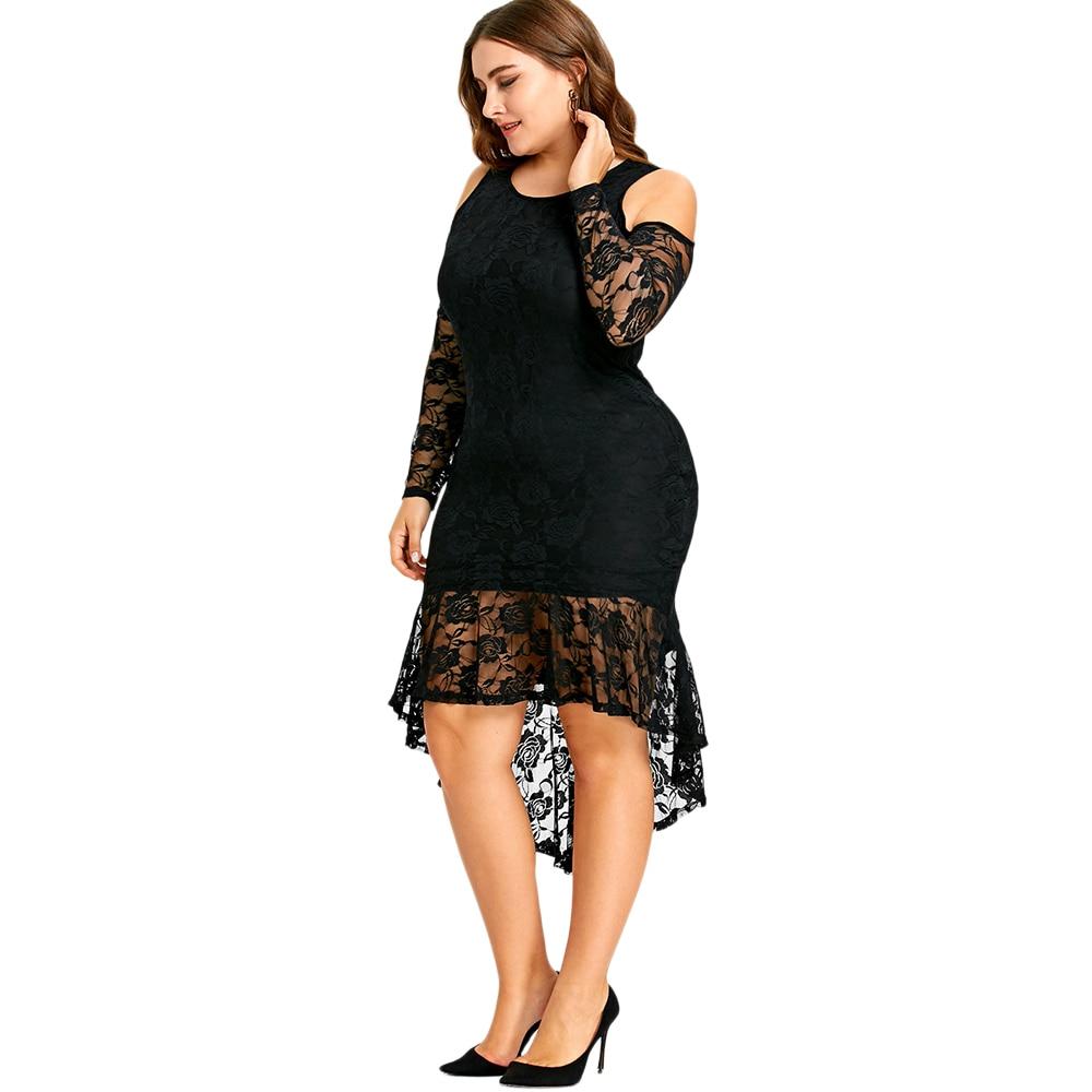 82c45a60c74d1 Fashions Plus Size Dress 5XL Cold Shoulder