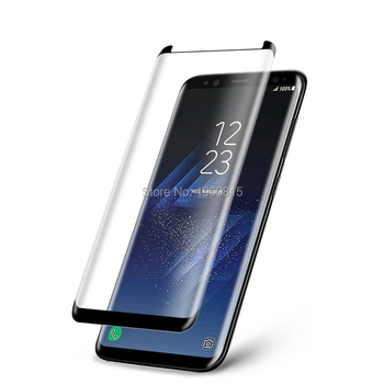 3D Curved Case Friendly Tempered Glass For Samsung Galaxy S8 Protective Film For Samsung S8 Plus Screen Protector Not Full Cover image