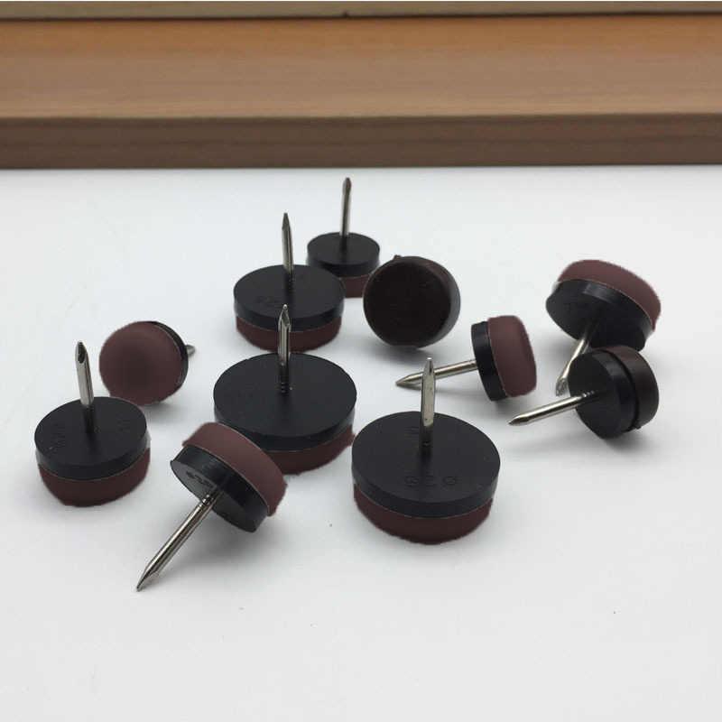 20 шт./компл. войлочные накладки для ног накладки для скольжения ногтей протектор для мебели, стульев и столов ножка Горячая