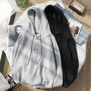 Image 3 - 2019 wiosna nowy nadruk w litery męskie dopasowane kolory Trend Temperament sport randki wysokiej jakości solidny cienki sweter