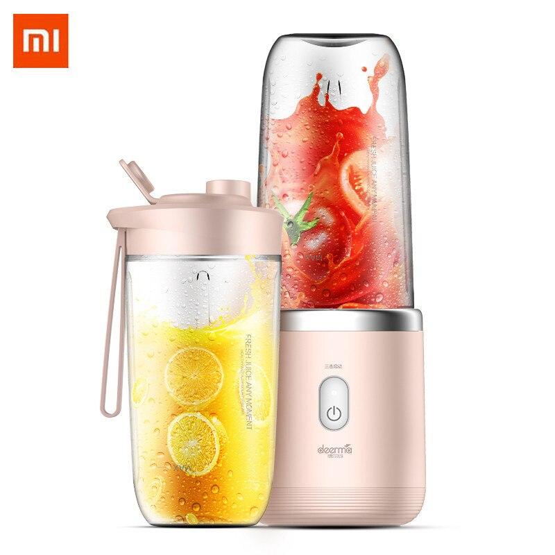 Xiaomi deerma presse-agrumes pour Orange citron fruits presse-fruits jus enfant vie saine automatique sans fil portable électrique presse-agrumes Machine