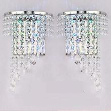 Hot selling Individual Wall Lamp Hotel Room Bedside Led Mirror Front Light Up Down Wholesale of Crystal Lamps