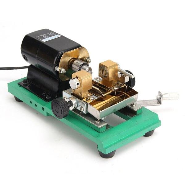 300 W CNC Mini tour machines-outils bricolage travail du bois bouddha perle meulage perles de polissage tour à bois perceuse outil rotatif 110 V - 2