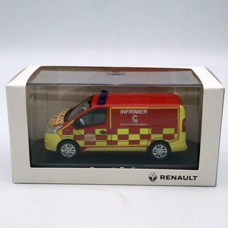 Norev 1/43 RENAULT Trafic 3 Nurse Firemen 2014 Diecast Models Collection CarNorev 1/43 RENAULT Trafic 3 Nurse Firemen 2014 Diecast Models Collection Car