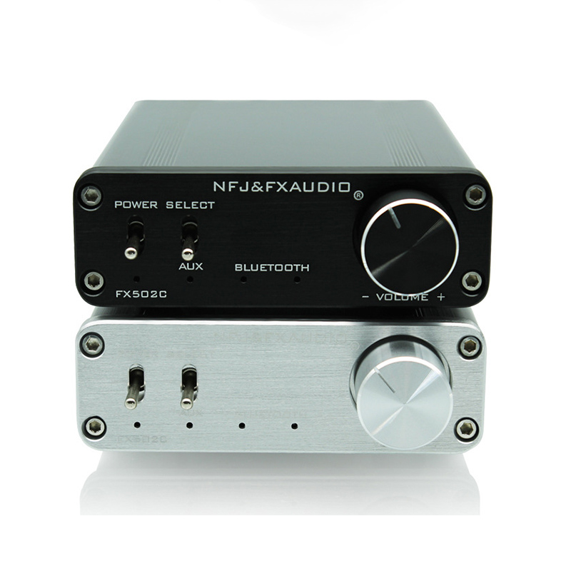 FX-AUDIO FX502C 50 W + 50 W bluetooth Amplificatore HiFi Digitale TPA3116 + CSR8635 Mini Febbre Amplificatore Home 12- 24 VFX-AUDIO FX502C 50 W + 50 W bluetooth Amplificatore HiFi Digitale TPA3116 + CSR8635 Mini Febbre Amplificatore Home 12- 24 V