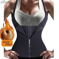 Sauna Vest Neoprene Body Shaper Slimming Belt Girdle Sweat Thermo Waist Trainer Shapewear Hot Shaper Modeling Strap Weight Loss