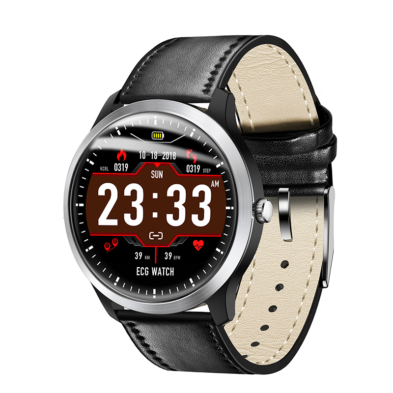 N58 ECG ECG Smart Bracelet PPG Smart Watch ECG Heart Rate Monitor ECG Blood Pressure Smart Watch for Android & iOS