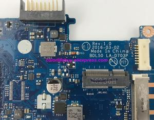 Image 4 - Genuine 854941 601 854941 001 UMA w i3 5005U CPU BDL50 LA D703P Laptop Motherboard Mainboard for HP 15 AY Series NoteBook PC