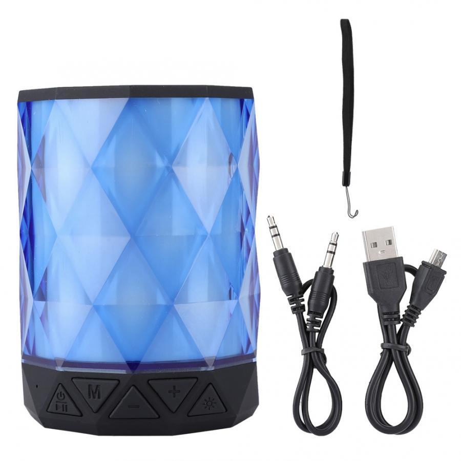 Speakers computer Diamond Shape Portable Mini Wireless BT4.2 Speaker 800mAh Loudspeaker bluetooth speaker waterproof