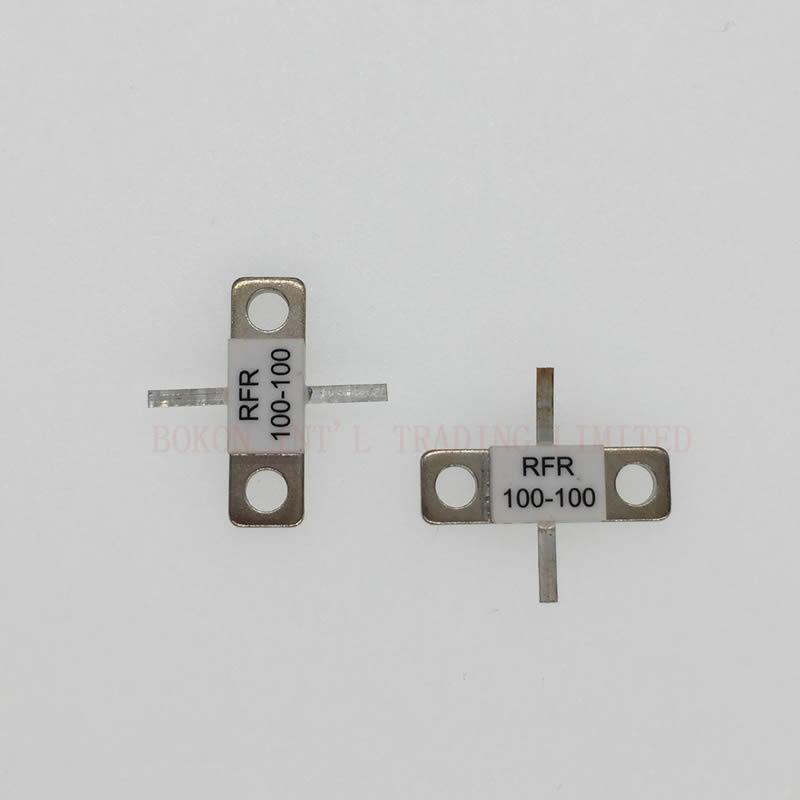 Flange Mount Resistors 100watts 100ohms DC-3.0GHz RFR100-100 BeO Ceramic High Power Dummy Load 100 Watts 100 OHMS DC-3GHz