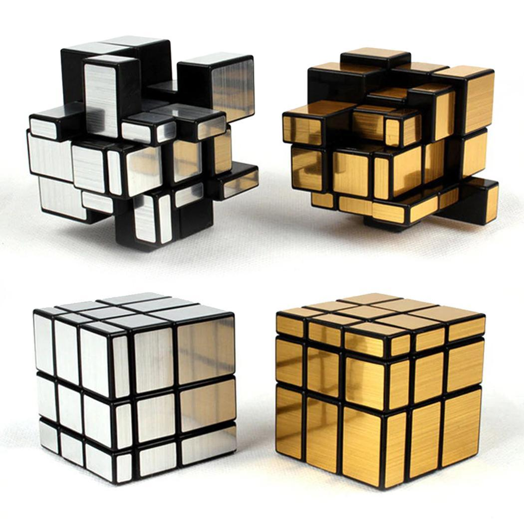 New Kids Children Mirror Surface Cube Silver, Golden Magic Cube 3x3 Puzzle magnetic magic cube 3x3x3 Puzzle Cube Toy Kid GiftsNew Kids Children Mirror Surface Cube Silver, Golden Magic Cube 3x3 Puzzle magnetic magic cube 3x3x3 Puzzle Cube Toy Kid Gifts