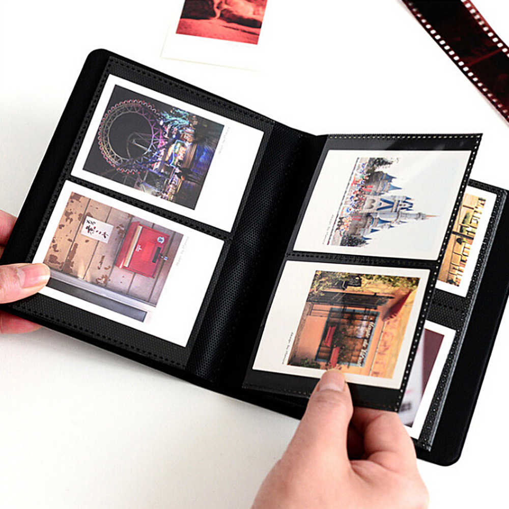 64 Pockets  Polaroid Photo Albums 3 inch Photography Albums Mini Instant Picture Case Storage For Fujifilm Instax Mini Film 8