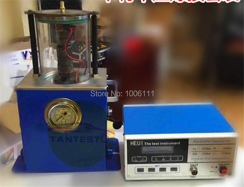 CT791 HEUI common rail injector nozzle tester tools with oil collector, can be installed in the diesel common rail test bench