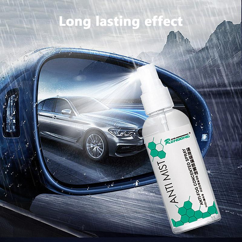 2pcs For Bmw Car Rearview Mirror Film Anti Fog Window Clear Rainproof Rear View Mirror Waterproofing Membrane Car Styling Highly Polished Car Stickers