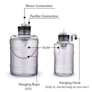 Image 4 - 24W Electric Milking Machine Cow Goat Sheep Milker Dual Vacuum Pump Bucket Food Safety Level Plastic Milking Machines