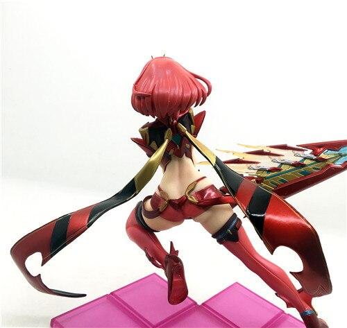 Xenoblade 2 Juego 1/7 Anime figura de acción de crónicas juego el destino más Pyra Hikari lucha de acción   PVC figuras de acción figura de juguete de animé juguete