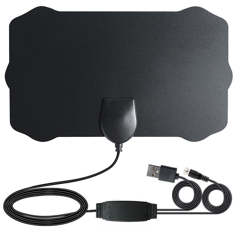 1080P HD Indoor Antenne <font><b>TV</b></font> <font><b>Digital</b></font> Skywire 4K Antena Digitale HDTV mit Signal Verstärker 200 Meile Palette r15 image