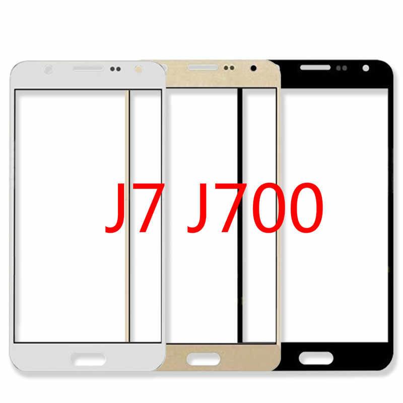 لمس الشاشة لسامسونج غالاكسي J7 J700 J700H J700F J700M لوحة اللمس 5.5 ''شاشة الكريستال السائل شاشة SM-J700F SM-J700H SM-J700M أجزاء
