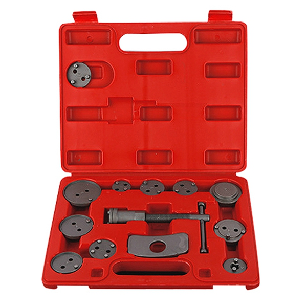 13 Pcs Universal Auto Car Precision Disc Brake Caliper Wind Back Tool Kit Brake Pad Brake Pump Brake Piston Car Repair Tool Ki