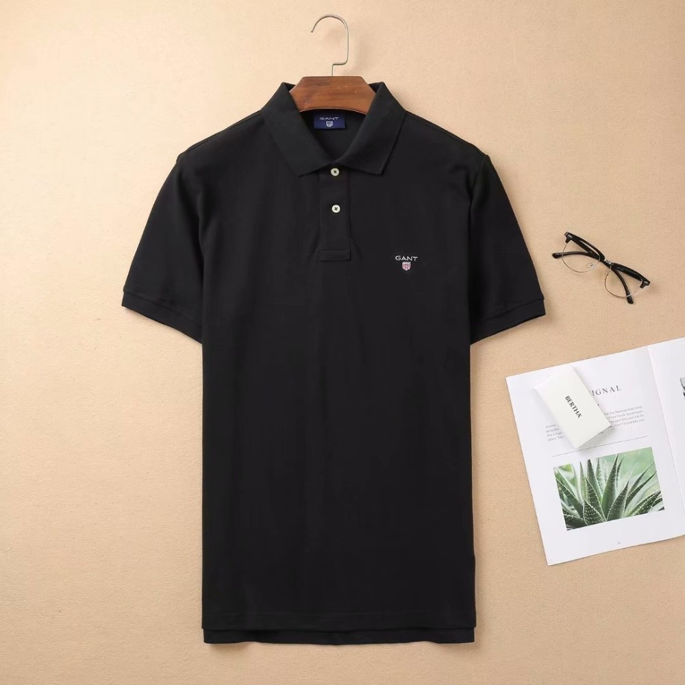 Summer   Polo   Men Slim Fit Solid Color Washed Vintage Smart Casual Top Cotton   Polo   shirt men Fashion Hommes Tees GT139