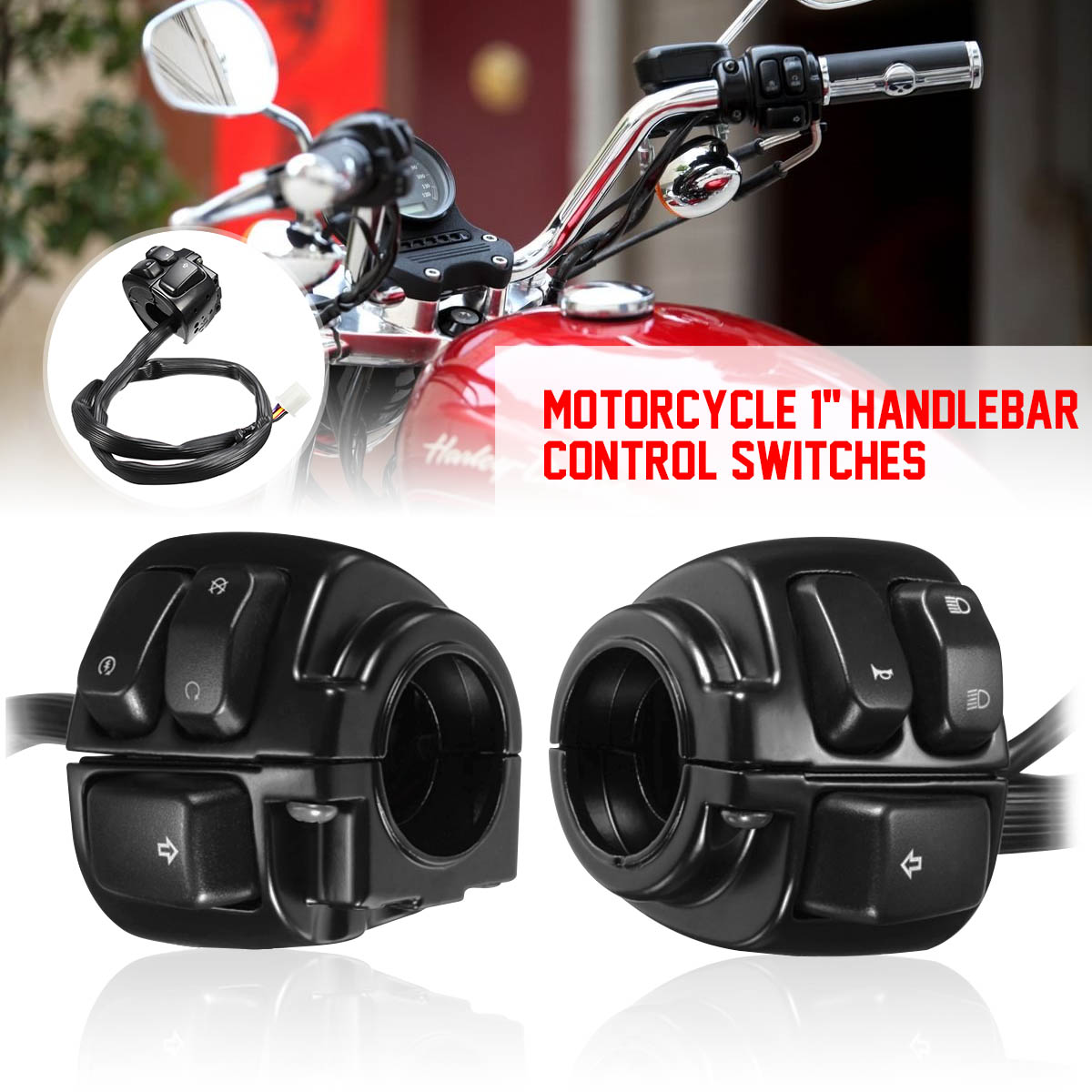 Motorcycle Electrical & Ignition Parts PAIR Motorcycle 1 ... on racing switches, motor switches, ignition switches, lever switches, battery switches, headlight switches, hub switches, brake switches,