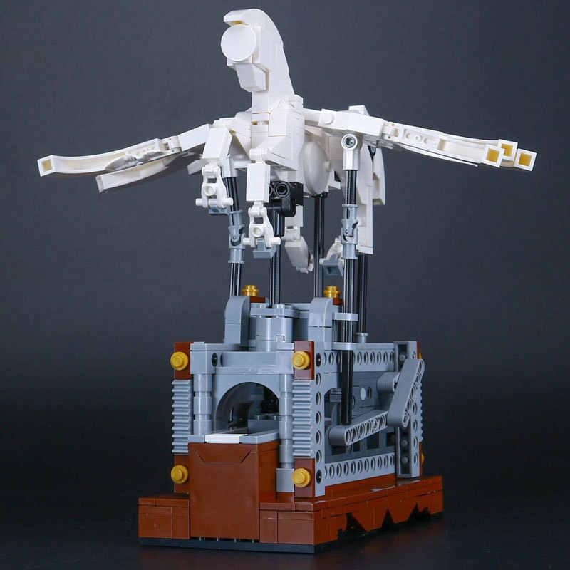 Pegasus Automaton Compatible Lego MOC LEPIN 23015 Technic Ideas Building  Blocks Bricks Toys Machine Gear Animal Display
