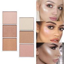 3-color Blush High-light Repair Capacity Tray Fine And Natur