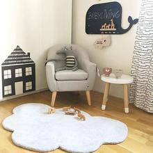 INS Nordic Style Cloud Cotton Plush Mat Childrens Carpet Game Pad Crawling Room Decoration Cushion