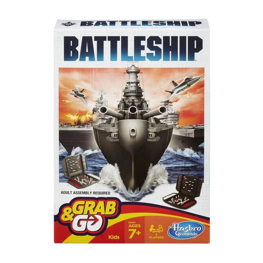 Board Game Hasbro Games Game Battleship, road, 7+ B0995121 data frog handheld game console with 818 games support fc gba neogeo