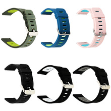 Two-color Print Replacement Wristband Silicone Strap For Wami Smart Watches And Other 22MM Unisex Style New