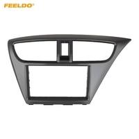 FEELDO 2Din Car Radio Frame Fascia for Honda Civic (European,RHD) CD DVD Stereo Panel Dash Mount Installation Trim Kit #4959