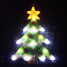 2d мотив рождественской елки 213 дюйма Высокое светодиодное