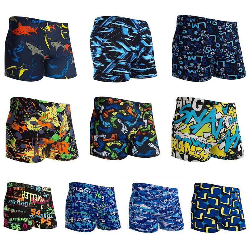 suge Bananas and Leaves Mens Beach Shorts for Mens Swim Trunks