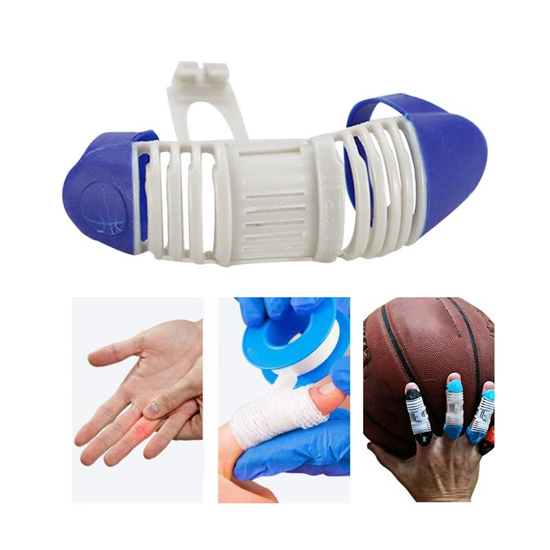 Basketball Sport Finger Splint Guard Bands Finger Protector Guard Support Volleyball Baseball Aid Brace