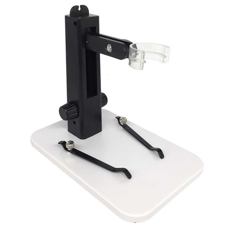 Универсальный USB видео цифровой микроскоп портативный подъемный стенд дно с держателем камеры и зажимами вверх вниз вращающаяся регулировка
