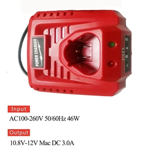 Image 5 - 3.0A 10.8V 12V Li Ion Vervanging Batterij Lader Voor M12 Milwaukee N12 48 59 2401 48  11 2402 Lithium Ion Batterij Eu Plug