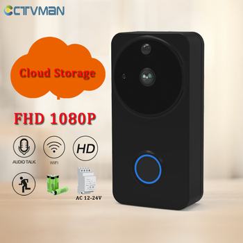 CTVMAN 1080P Cloud Video Door Intercom Video Call Doorphone Home Security Wireless Door Bell Smart Wifi Camera Video Doorbell