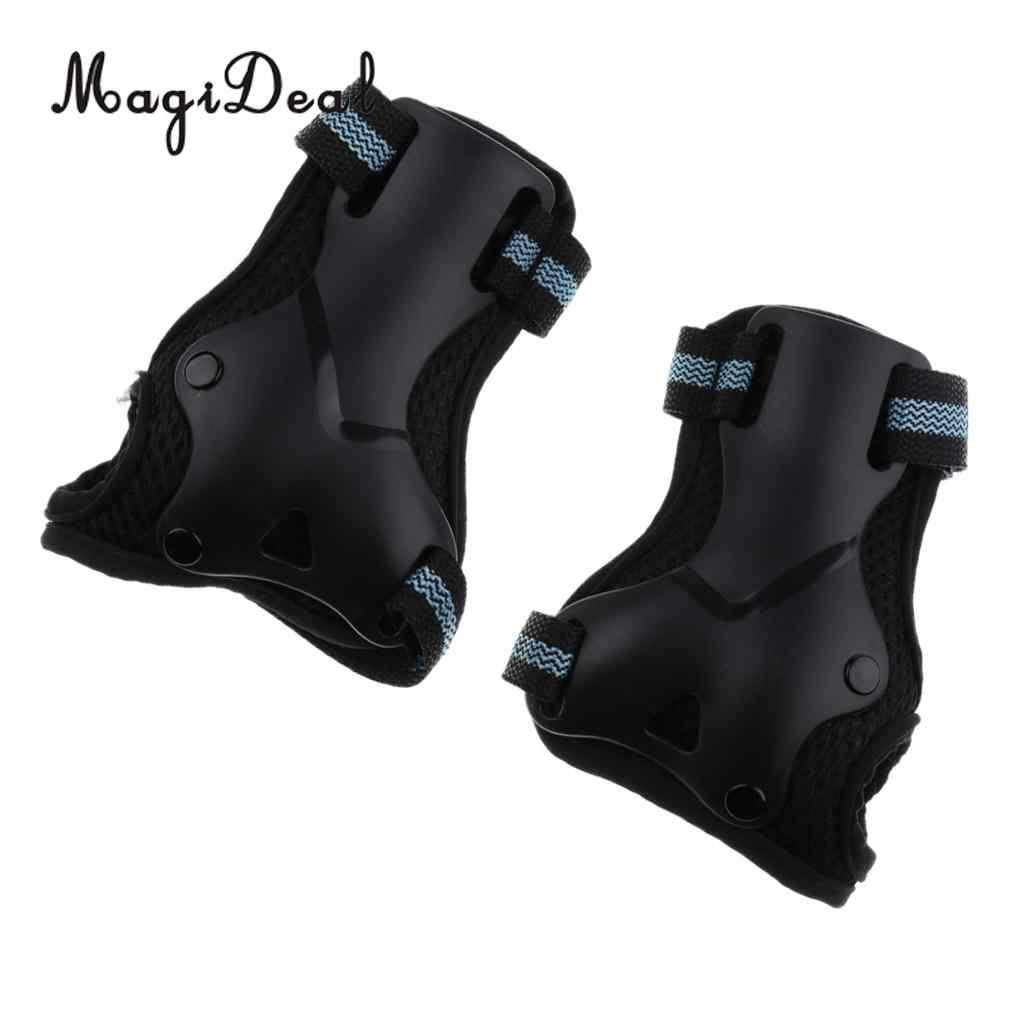 Magideal 1 Paar Inline/Rolschaatsen Pols Guards Pads Handschoenen Hand Palm Bescherming Voor Skateboards Fietsen Schaatsen Kajakken