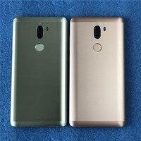 Original Axisinternational For 5.7 Xiaomi 5S Plus Mi5S Plus Back Battery Cover Case+Power Side Buttons+Fingerprint+Glass Lens