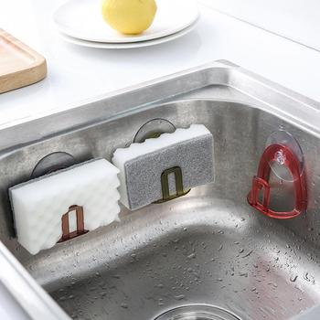 Free Shipping High Quality ABS PVC Suction Cup Sink Drain Rack Sponge Storage Holder Kitchen Sink Soap Rack Drain Rack 1