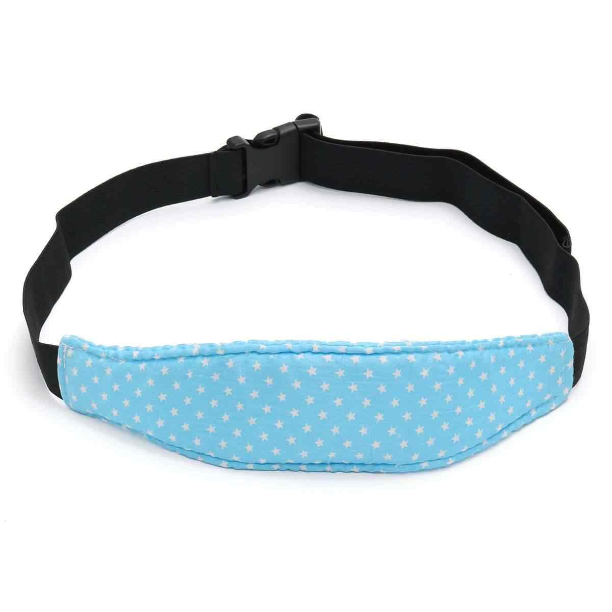 Almohada para dormir de bebé con estilo para coche, correa de soporte para asiento de coche para niños pequeños, accesorios para asiento de coche para niños
