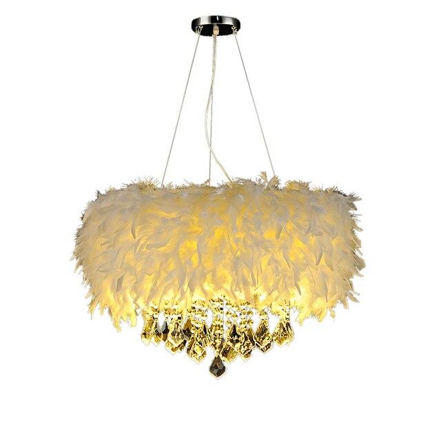 Multi couleur plume lampes suspendues de la lampe enfants de chambre ...