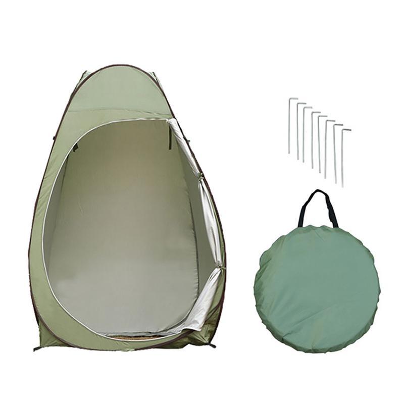 Tente extérieure pop-up camping douche salle de bains toilette intimité vestiaire stockage simple mobile tente pliante