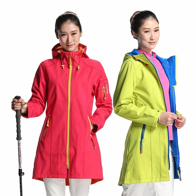 Spring Outdoors Hiking Camping Self-cultivation Thin Shark SoftShell Clothes Woman Increase Down Waterproof Windbreaker JacketSpring Outdoors Hiking Camping Self-cultivation Thin Shark SoftShell Clothes Woman Increase Down Waterproof Windbreaker Jacket