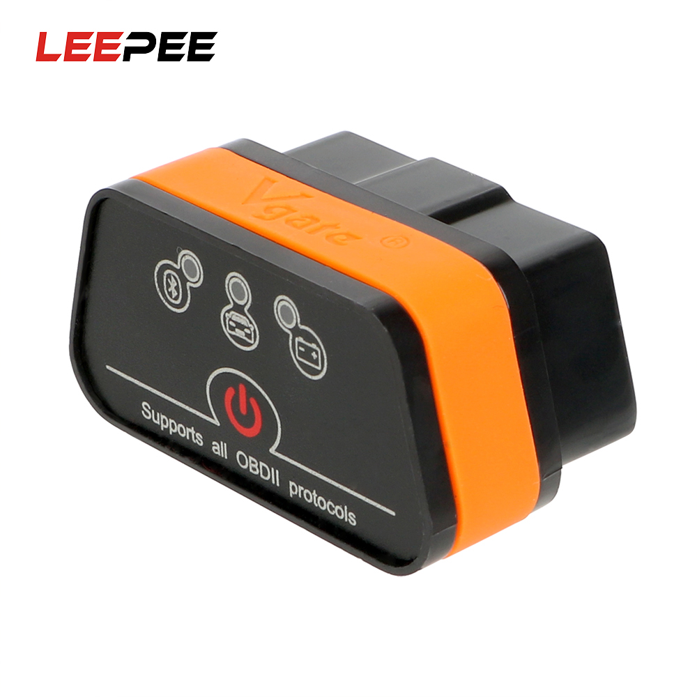 LEEPEE Car Error Code Reader Car Diagnostic Tool Icar2 OBD2 ELM327 V1.5 Automotive Scanner For Android Bluetooth Adapter